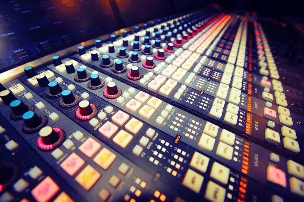 Mixing desk - Shutterstock