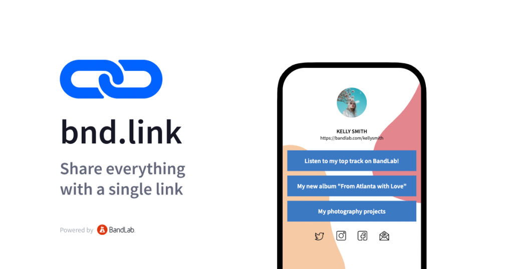 Bnd.link feature intro