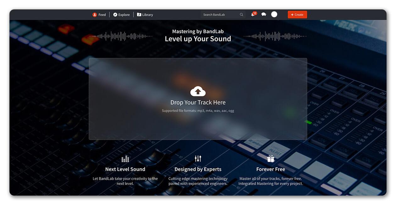 BandLab Mastering
