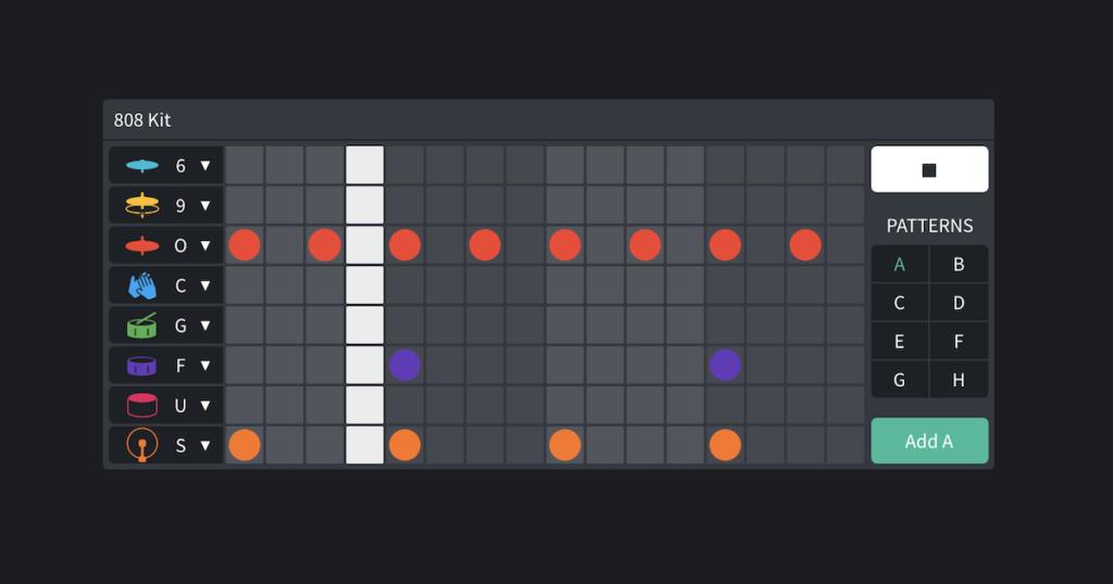MIDI mix editor BandLab