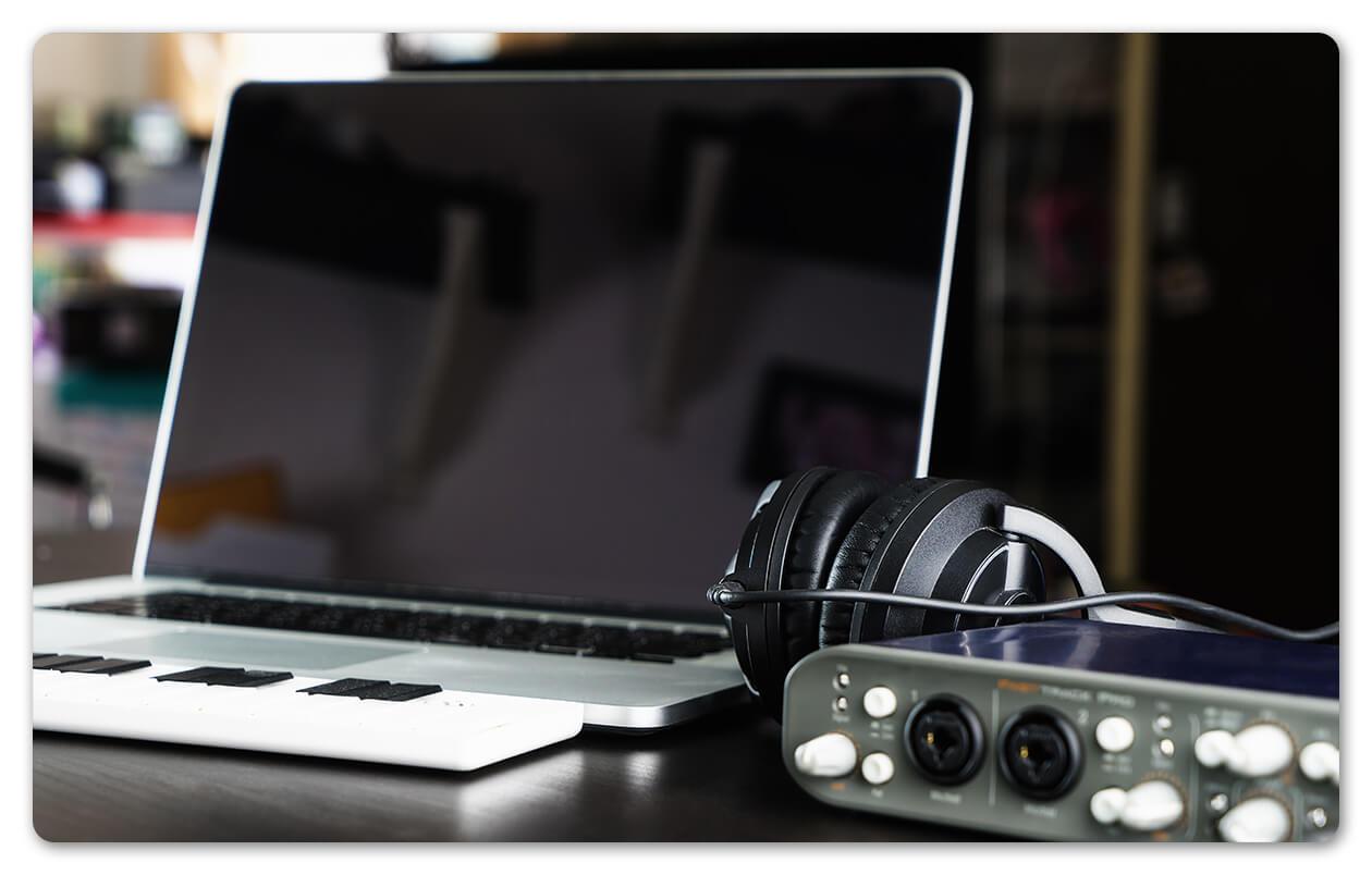 Computer home recording