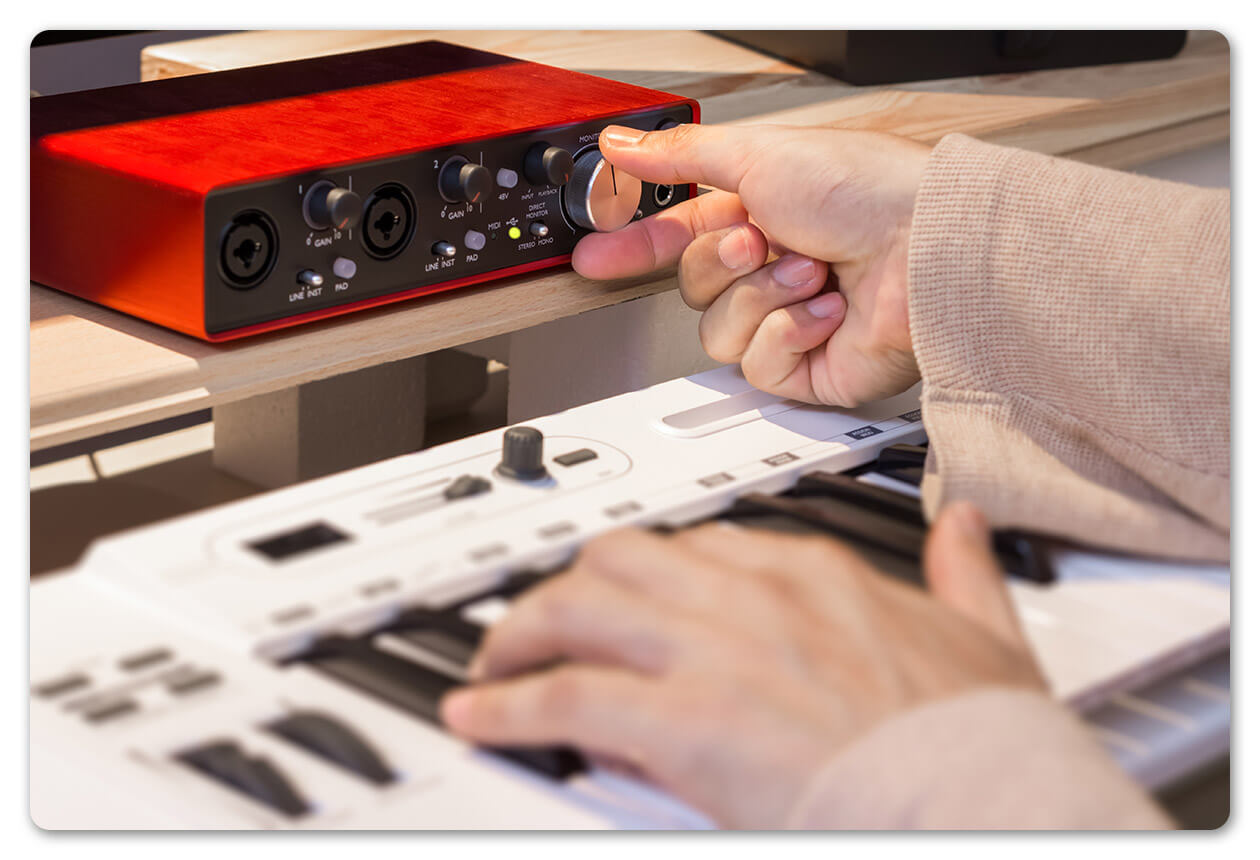 Audio interface home recording