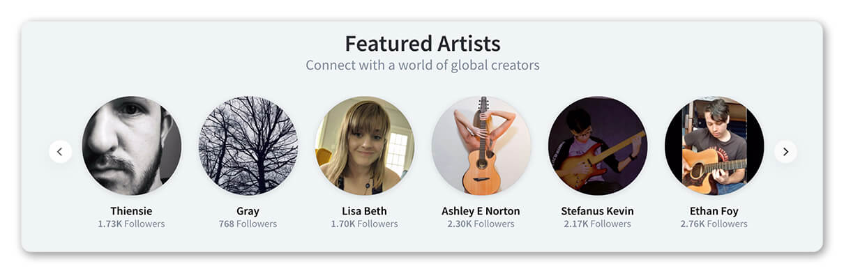 Featured Artists on BandLab