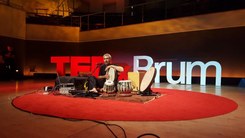 Jon Sterckx Bollywood percussion