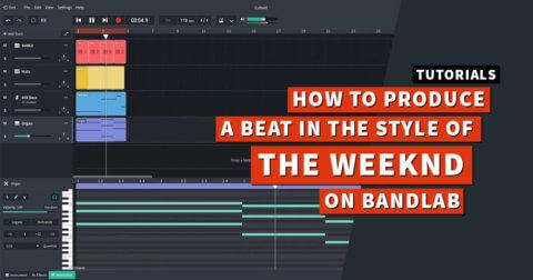 Create The Weeknd beat