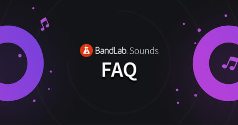 BandLab Sounds FAQ - blog banner