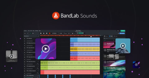 BandLab Sounds: Creating a track on the Mix Editor