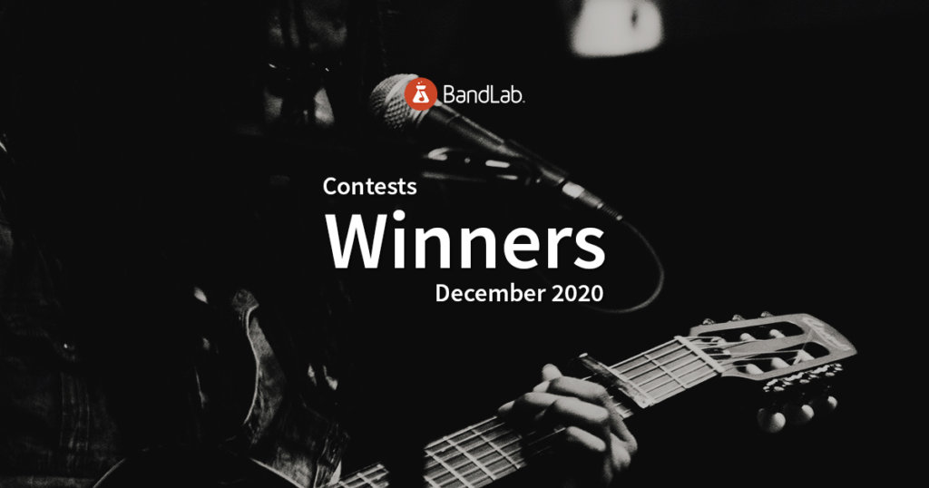 December 2020 BandLab contest winners