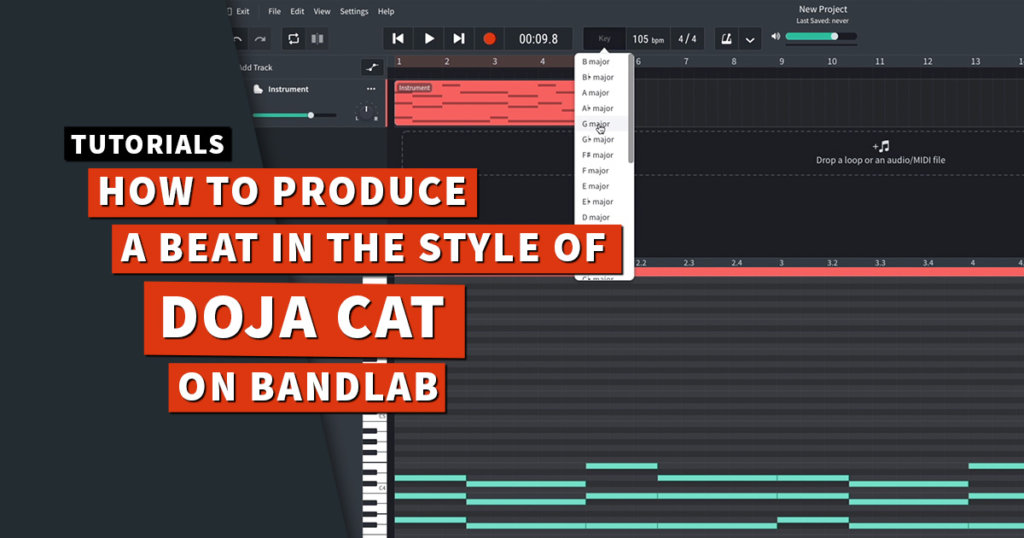 Doja Cat beat tutorial