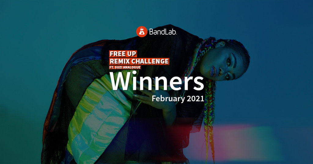 BandLab contests - Suzi Analogue contest winners february 2021