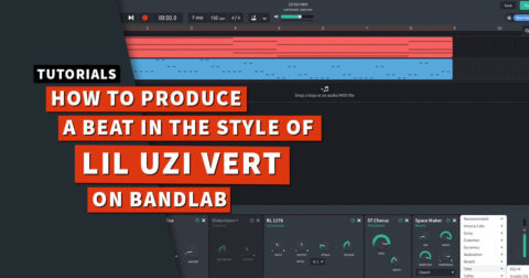 Beats from scratch: How to produce a Lil Uzi Vert beat on BandLab