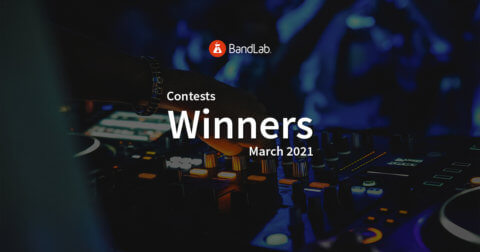 BandLab contest winners March 2021 competition