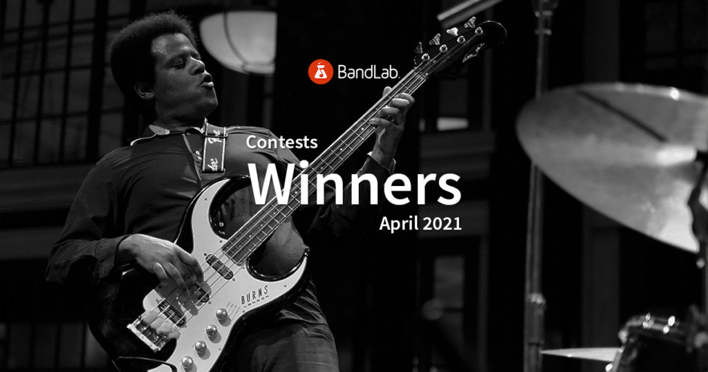 BandLab Contest winners May 2021
