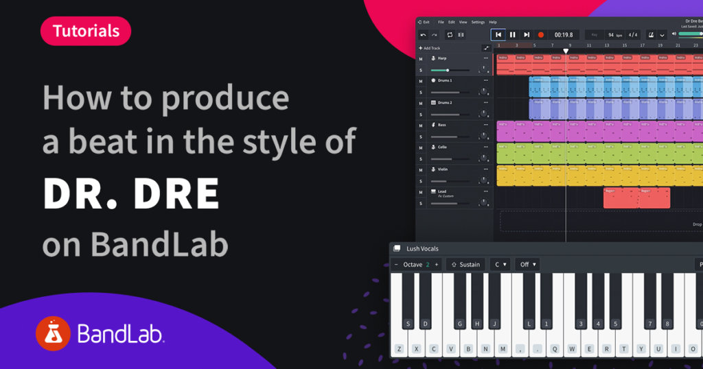 How to produce a beat in the style of Dr. Dre on BandLab Mix Editor