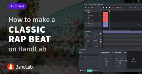 How to make a classic rap beat on BandLab