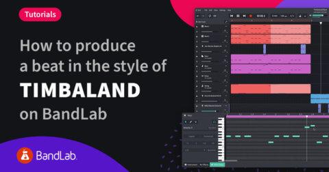 How to make a Timbaland style beat on BandLab Mix Editor