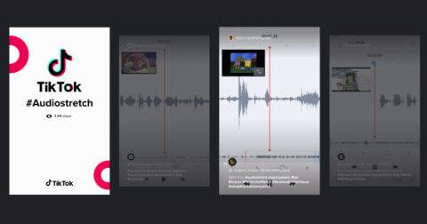 Top 5 viral AudiosStretch TikTok videos BandLab