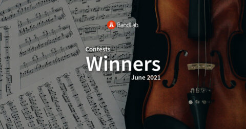 BandLab contest winners for June 2021