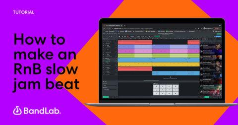 How to make a R&B slow jam beat on BandLab