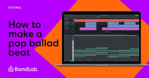 How to make a pop ballad beat